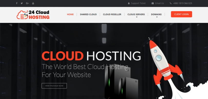 24 Cloud Hosting