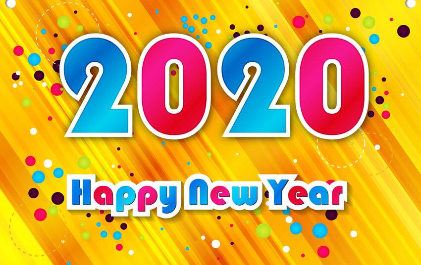 Happy নিউ ইয়ার 2020